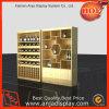 Tienda de vino estante de exhibición del vino Vitrina