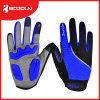 Bici antisdrucciolevole Shockproof che corre i guanti di riciclaggio della barretta piena di Glovels di sport