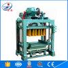 アフリカは半自動油圧空の煉瓦作成機械を使用した