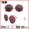 Стекла Sun женщин Ynjn цветастые круглые Bling UV400 для женщин