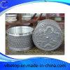 高品質によってカスタマイズされる錫の茶筒
