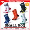 Halbe Kissen-Baumwollform-im Freiensport-Streifen-Socken