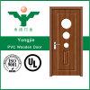 Constructeur personnalisable de panneau de porte de PVC de porte d'oscillation de Zhejiang
