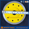 Het snelle Scherpe Blad van de Zaag van de Diamant Hulpmiddelen heet-Gedrukte Gesinterde Daling Gesegmenteerde Turbo Scherpe