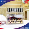 Organizador cosmético caja de almacenaje de acrílico