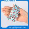 Персонализированная полоса запястья руки полиэфира конструкции эластичная для волос