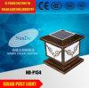 Lumière solaire de poste du lumen élevé en aluminium DEL