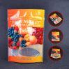 Poche comique inférieure ronde de sac de blocage de tirette de sachet en plastique de fruit d'impression de propriétaire