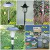 Lámparas que cultivan un huerto solares