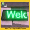 Muestra de alto brillo del color verde LED Mensaje