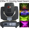 New 230W 7r Sharpy Beam Moving Head with Double PRISM and Gobo Knell