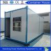 Casa modular prefabricada del envase del marco de acero y del panel de emparedado con buena calidad y precio bajo
