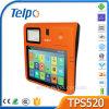 Telpo TPS520 NFC Card Reader Terminal Tablet POS com dispositivo de impressão digital óptico para loteria de restaurantes de varejo