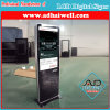 Vcam Touch Screen LCD LED DIGITAL Signage Playerの上の55インチStand