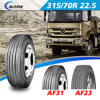 Schlauchloses Truck Radial Tires/Tyre (215/75r22.5 235/75r17.5 315/70r22.5)
