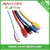 PVC Plastic HDMI 1.4V Cable Support 3D e Ethernet da cor