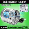 4, ventilador da exaustão do ventilador do impulsionador do duto de 6 polegadas/ventilador Inline circular hidropónico de /Hydroponics do ventilador do duto 100mm, 150mm