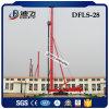최대 깊이 28m Dfls-28 유압 더미 모는 기계 회전하는 드릴링 리그 기계