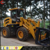 Wood Grapple Zl20f를 가진 정면 End Loader
