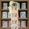 El tocador de Papá Noel limpia el tejido impreso de la cocina del papel higiénico de la novedad