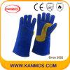 De echte Handschoenen van het Werk van het Lassen van de Bedrijfsveiligheid van het Leer van de Zweep (11111)