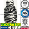Pelliccia calda della peluche del leopardo della zebra del coperchio della bottiglia di acqua del CE