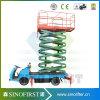 8m a 16m eléctrica móvil de camión hidráulico montado hombre de tijera