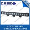 26  einzelner Reihe 140W super heller CREE heller Stab LED