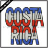 Costa Rica Embroidery Patch voor Iron op Clothing (byh-10146)