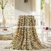 Polyester gedruckte korallenrote Vlies-Decke
