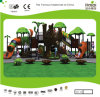 Campo da gioco per bambini della foresta di Kaiqi di tema di medie dimensioni della capanna sugli'alberi (KQ20020A)