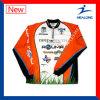 Healong Personnaliser les chemises de pêche Sublimation Dri Fit Fishing Wear