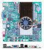 1つの小型ITXマザーボード機内原子D2560 CPUの設置済み独立したビデオカードNvidia GT520のすべて