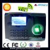 De professionele Biometrische Machine van de Opkomst van de Tijd van de Vingerafdruk TCP/IP