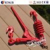 Raccoglitore Chain di spruzzatura rosso forgiato del caricamento della molla della maniglia