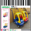 Kids di plastica Shopping Trolley Cart per Supermarket