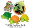 Lustiges Knall-Kopf-Schildkröte-Spielzeug