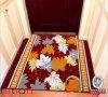 Esteira de borracha Home Non-Slip do assoalho da esteira de porta da decoração