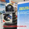 Tubo interno e aletas do produto e do pneumático butílico das vendas