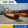 Transport Construction Machine와 Excavator를 위한 낮은 Bed Semi Trailer