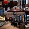 Vector moderno excelente del restaurante del hotel (EMT-SKD05)