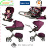 Tela favorável ao meio ambiente do carrinho de criança de bebê de Oxford 300d com Oko Tex