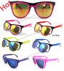 Promotional caldo Plastic Sunglasses con FDA/CE/UV400