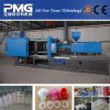 プラスチック射出成形機械および機械を作るびんのプレフォームおよび帽子