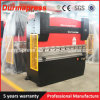 Presionar la dobladora del CNC del freno Wc67k-300t/3200 con el regulador de Delem