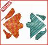 Bandana de pare-soleil de mode imprimé par coton 100% avec la crête