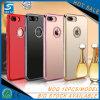 Caixa acrílica do telefone do espelho do diamante TPU do projeto na moda para o iPhone 7plus