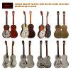 Aiersi Wohnzimmer-Resonator-Gitarre Cutway elektrische Gitarre mit Aufnahme