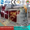 주문을 받아서 만들어진 세륨 승인되는 CNC 격판덮개 벤더 회전 기계 Mclw12xnc-25*2600