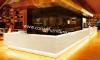 Zoll sortierter moderner Entwurf Corian Kaffee-Kiosk